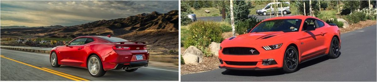 "Camaro SS vs. Mustang GT: The ""Entry"" Ponycar V8's"