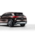 An evolution of the 2016 QX Sport Inspiration, the QX50 Concept shows how the design of its conceptual forebear could be adapted for a future production model in the world's fastest-growing vehicle segment.