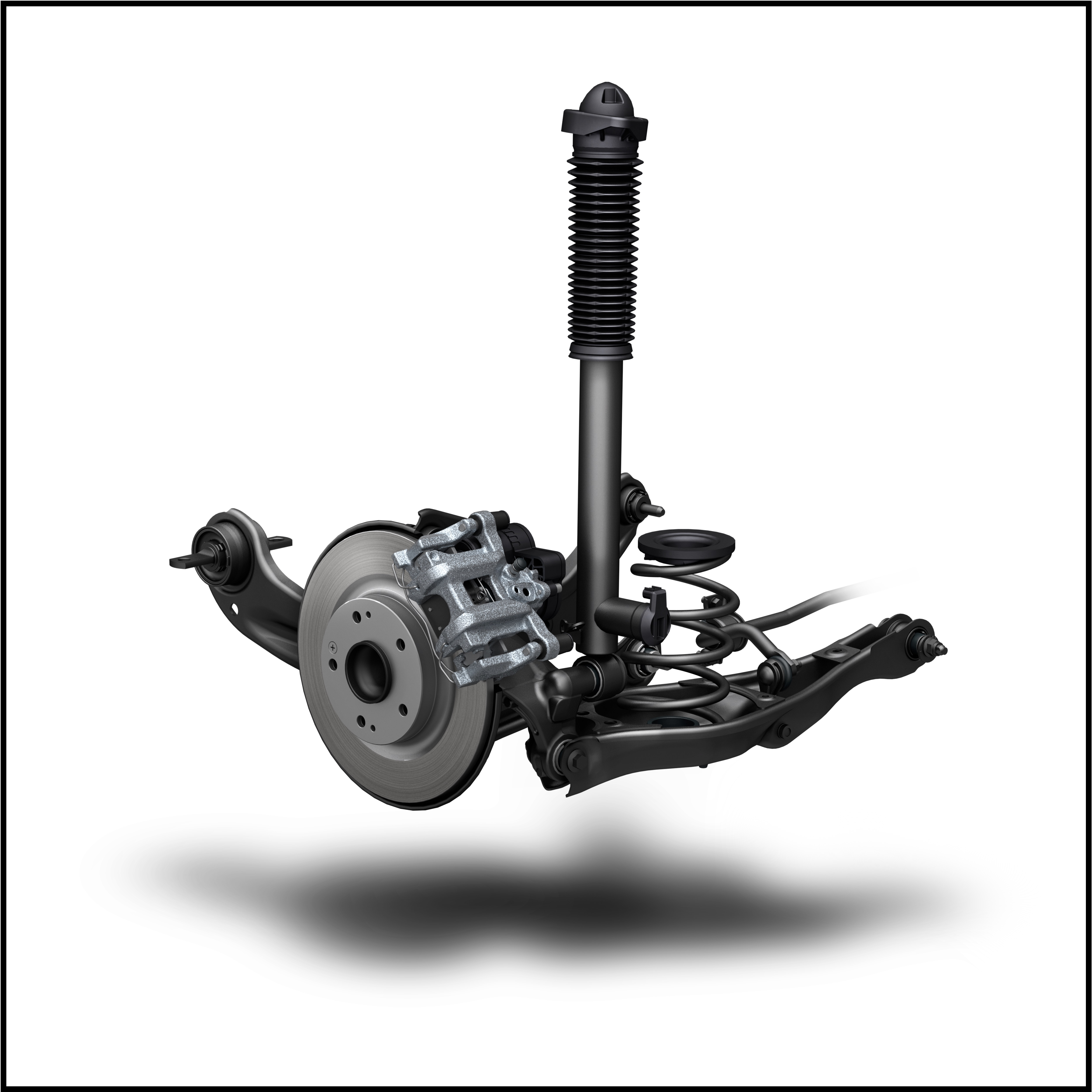 The Rear Suspension Uses Parts Common With Track Focused Type R