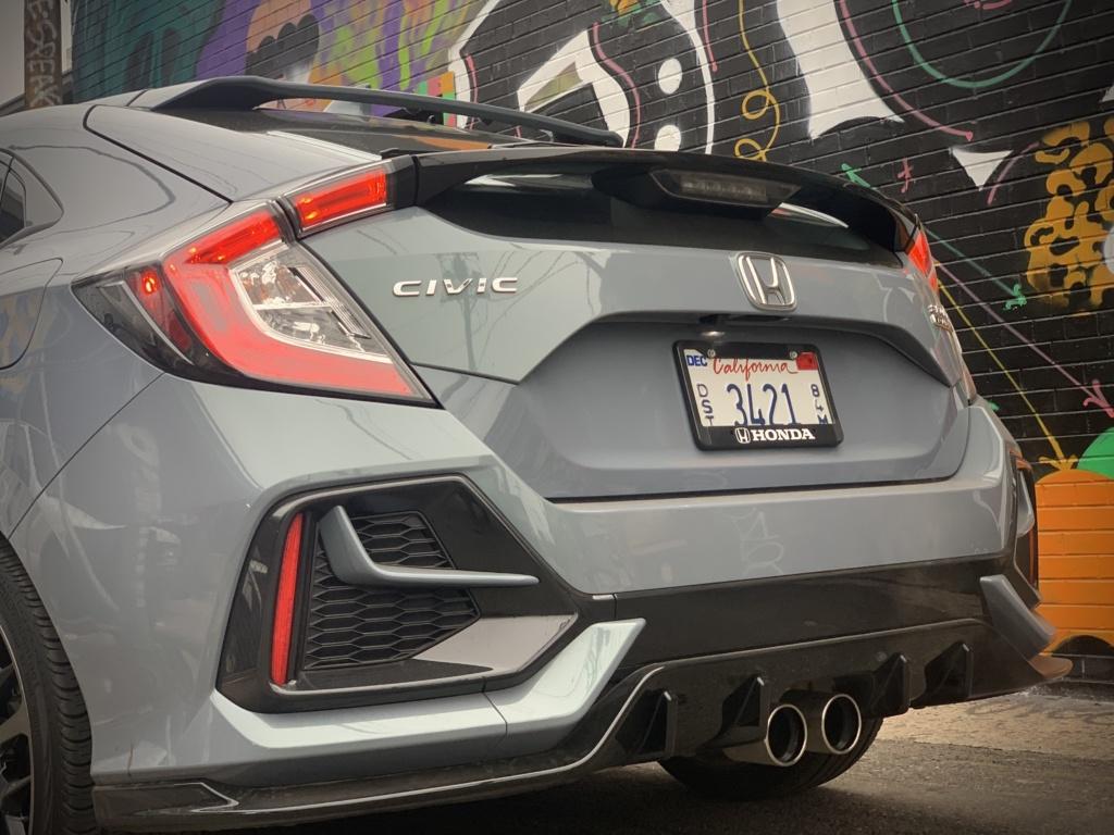 Honda Civic Hatchback rear