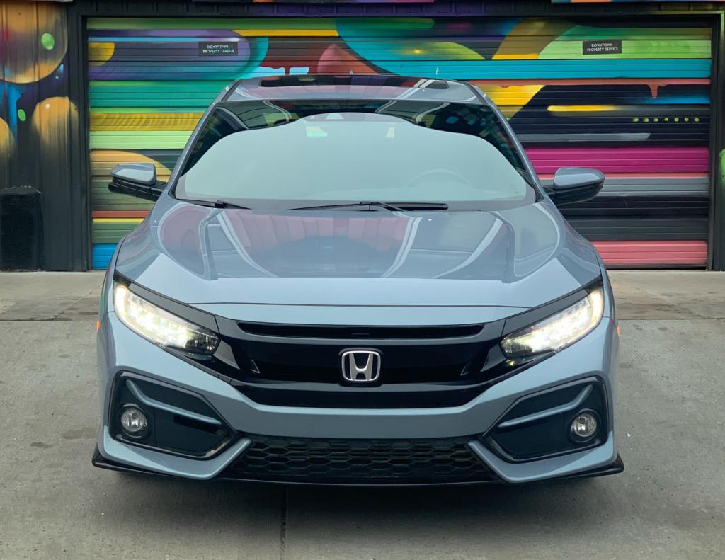Honda Civic Hatchback front