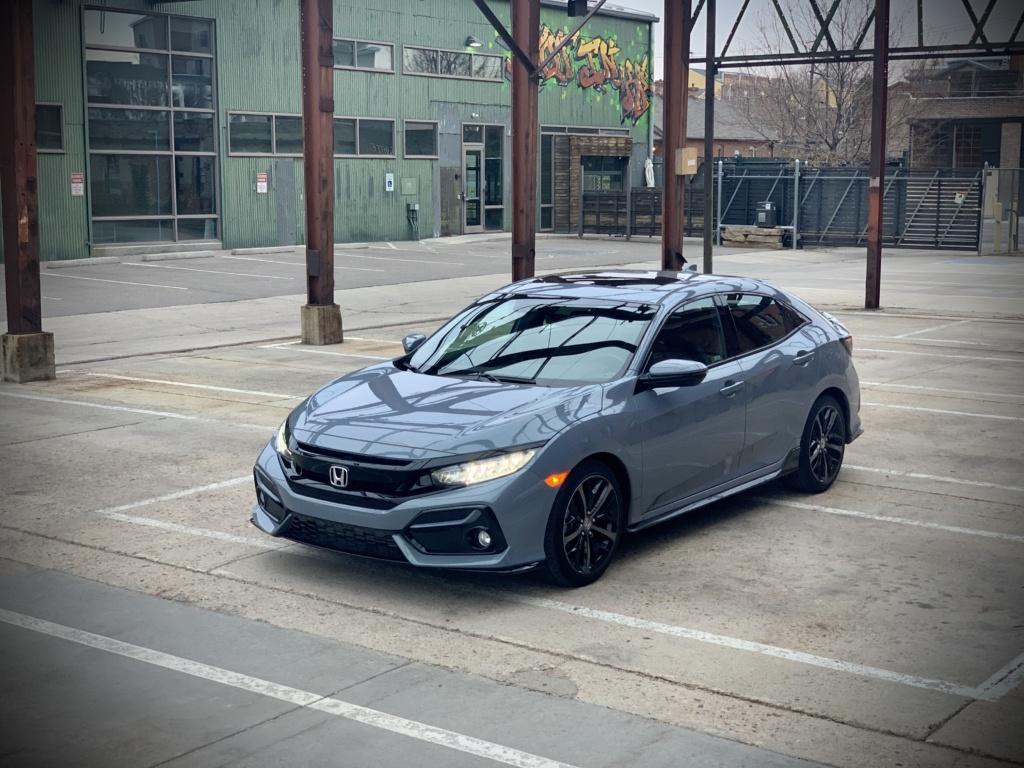 Honda Civic Hatchback front quarter