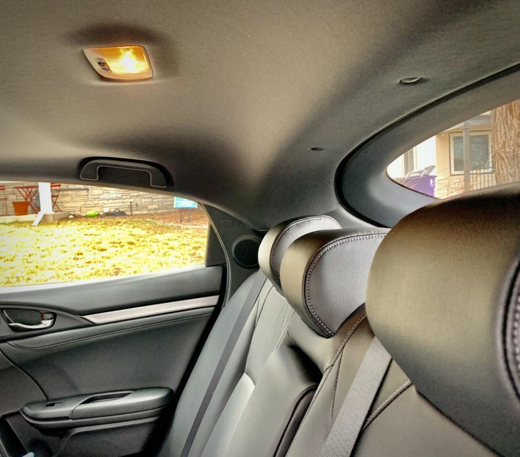 Honda Civic Hatchback Rear seat