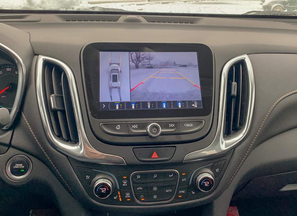 Chevrolet Equinox Surround View Camera