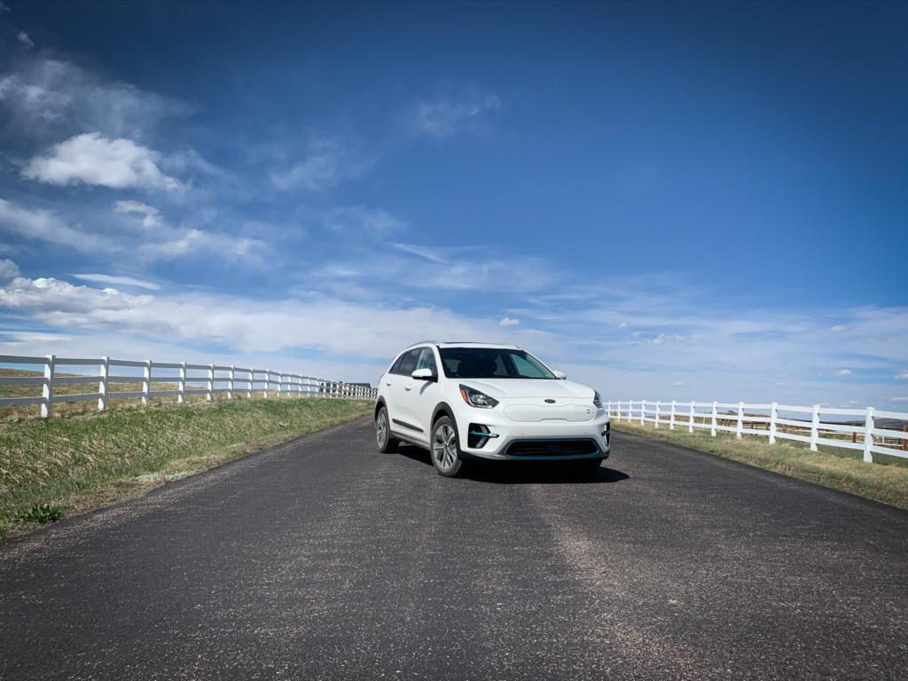 Kia Niro EV front
