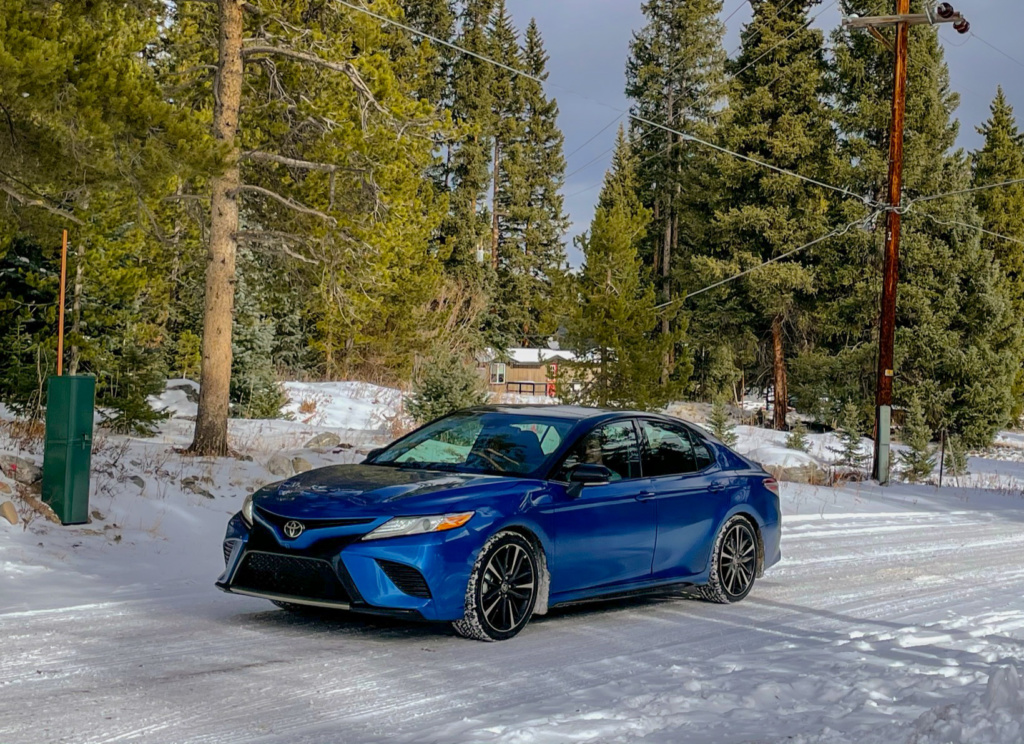 Toyota Camry all wheel drive exterior
