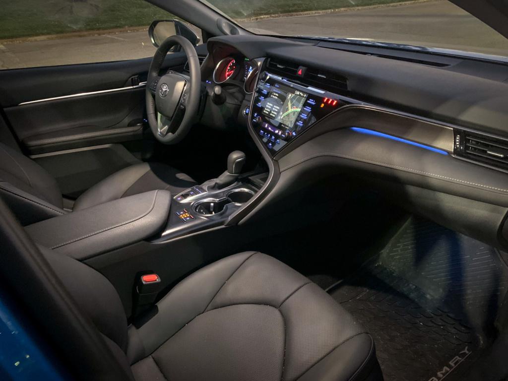 Toyota Camry all wheel drive interior